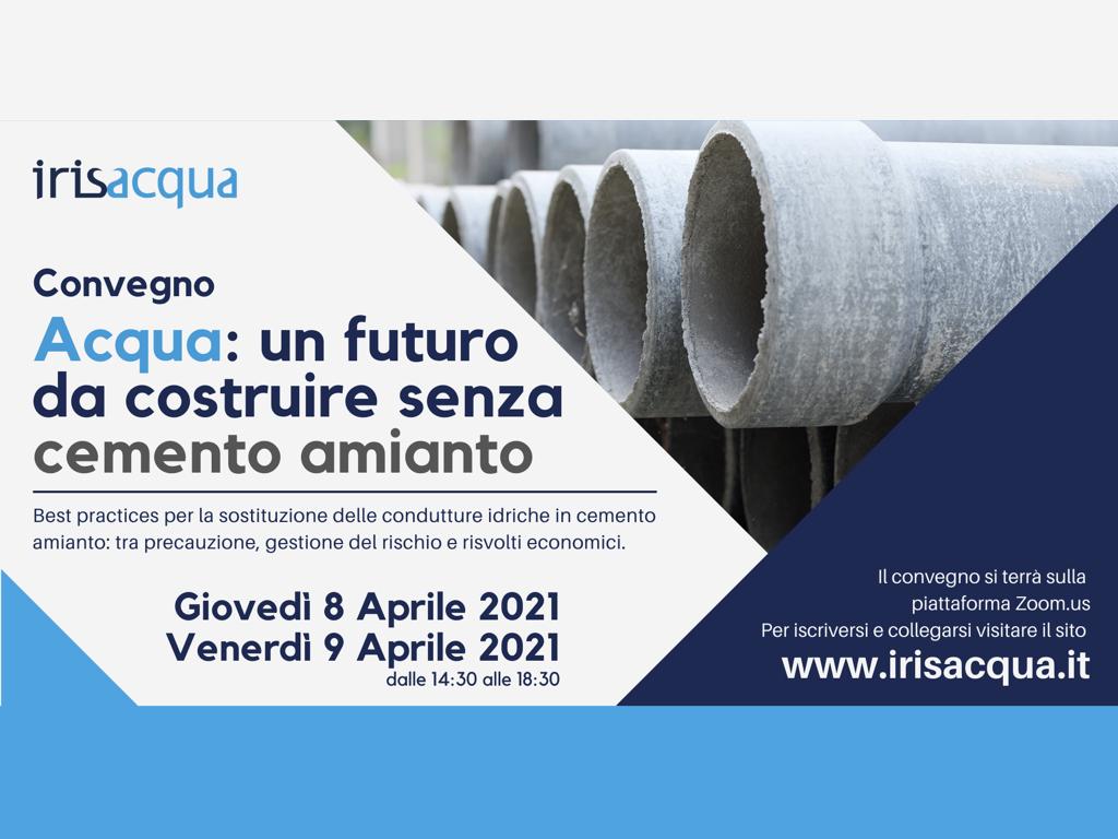 """Convegno """"Acqua: un futuro da costruire senza cemento amianto"""""""