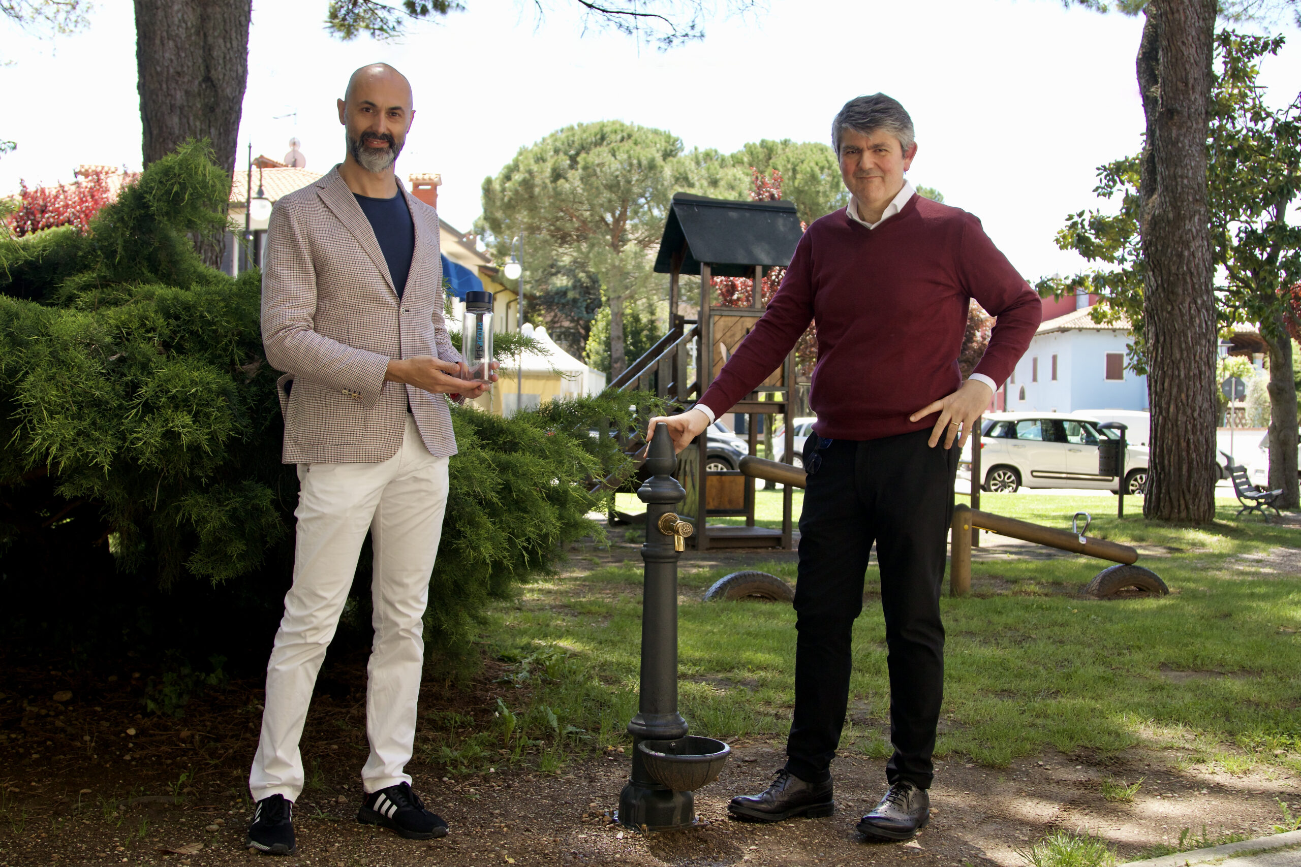 Una fontanella in ogni comune, la prima a Farra d'Isonzo